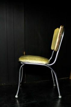 chair against black