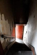 east gate old stairway