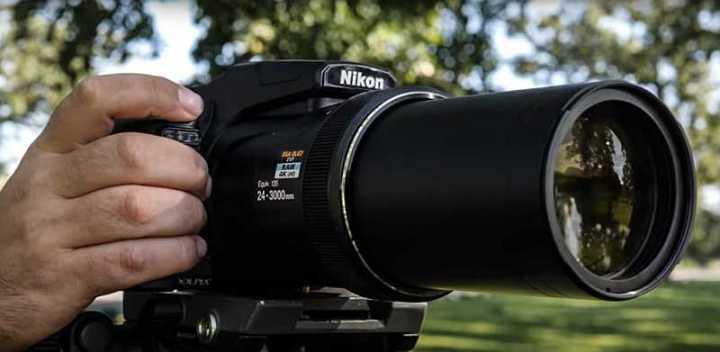 Nikon P1000 super zoom camera