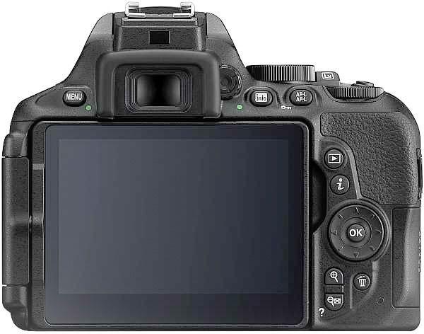 Nikon D5600 display