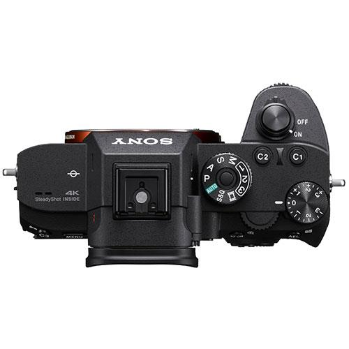Sony A7R III top view