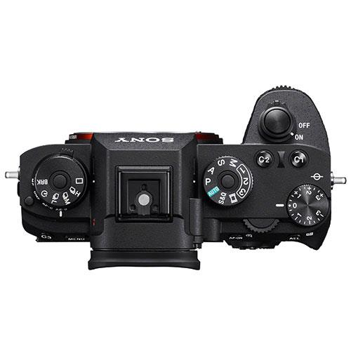 Sony A9 top view