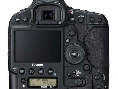 Canon EOS 1D X Mark II screen view