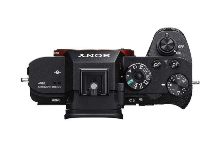 Sony A7RII control buttons