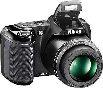 Nikon Coolpix L340 camera flash