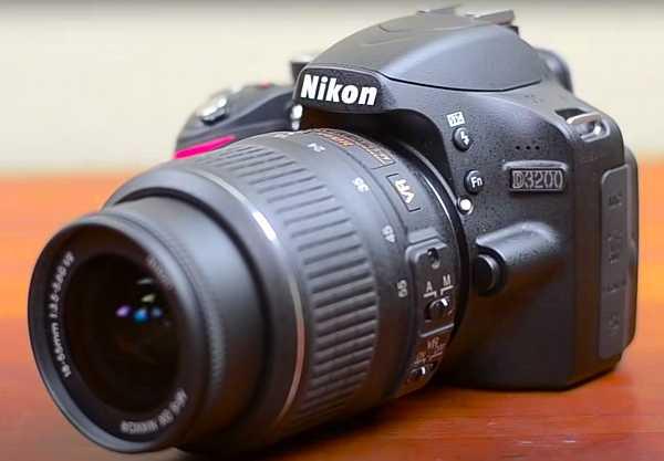 Nikon D3200 digital SRL camera