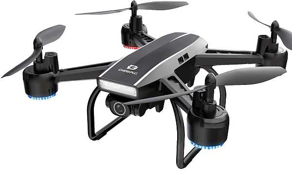 Deerc D50 drone with 2k UHD camera