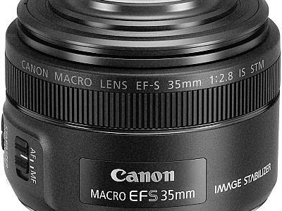 Canon 2220C002 EF-S 35 mm f-2.8 Macro IS STM Camera Lens