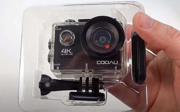 Cooau 4k action camera in hand review