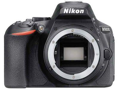 Nikon D5600 camera body front view