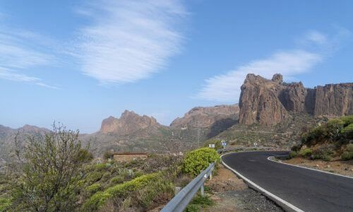 Highway in Gran Canary