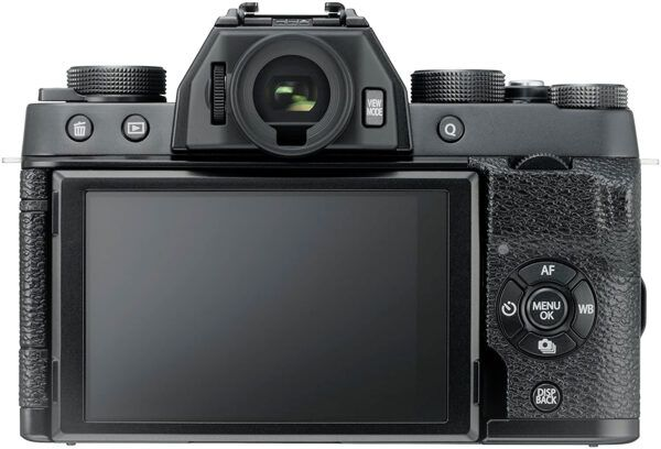 Fujifilm X-T100 LCD view