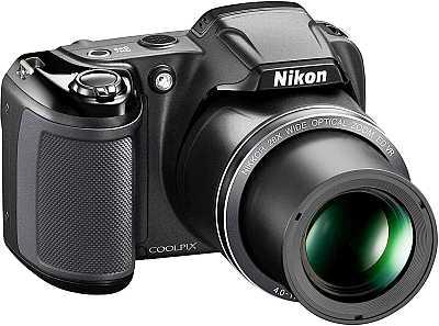 Nikon Coolpix L340 camera zoom