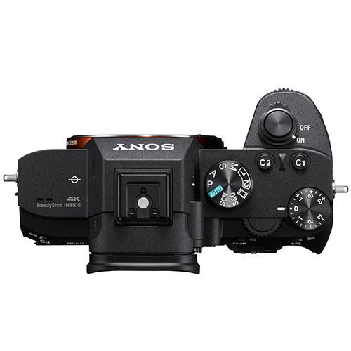Sony a7III top view