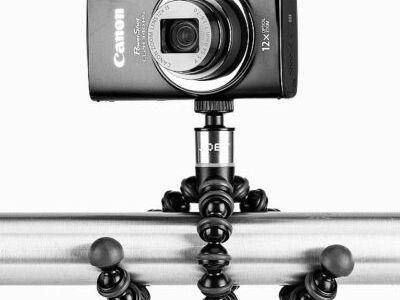 Joby GorillaPod 325 with camera