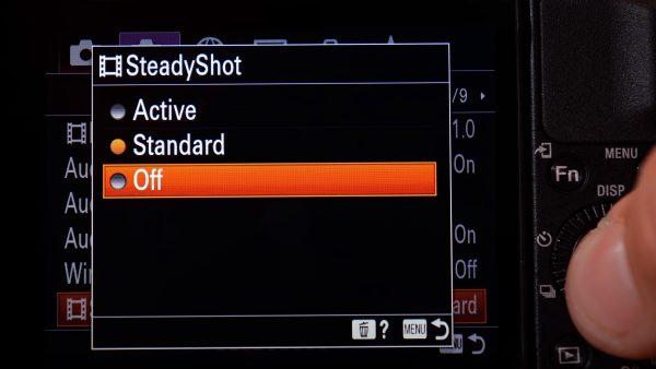 Sony ZV1 stabilization