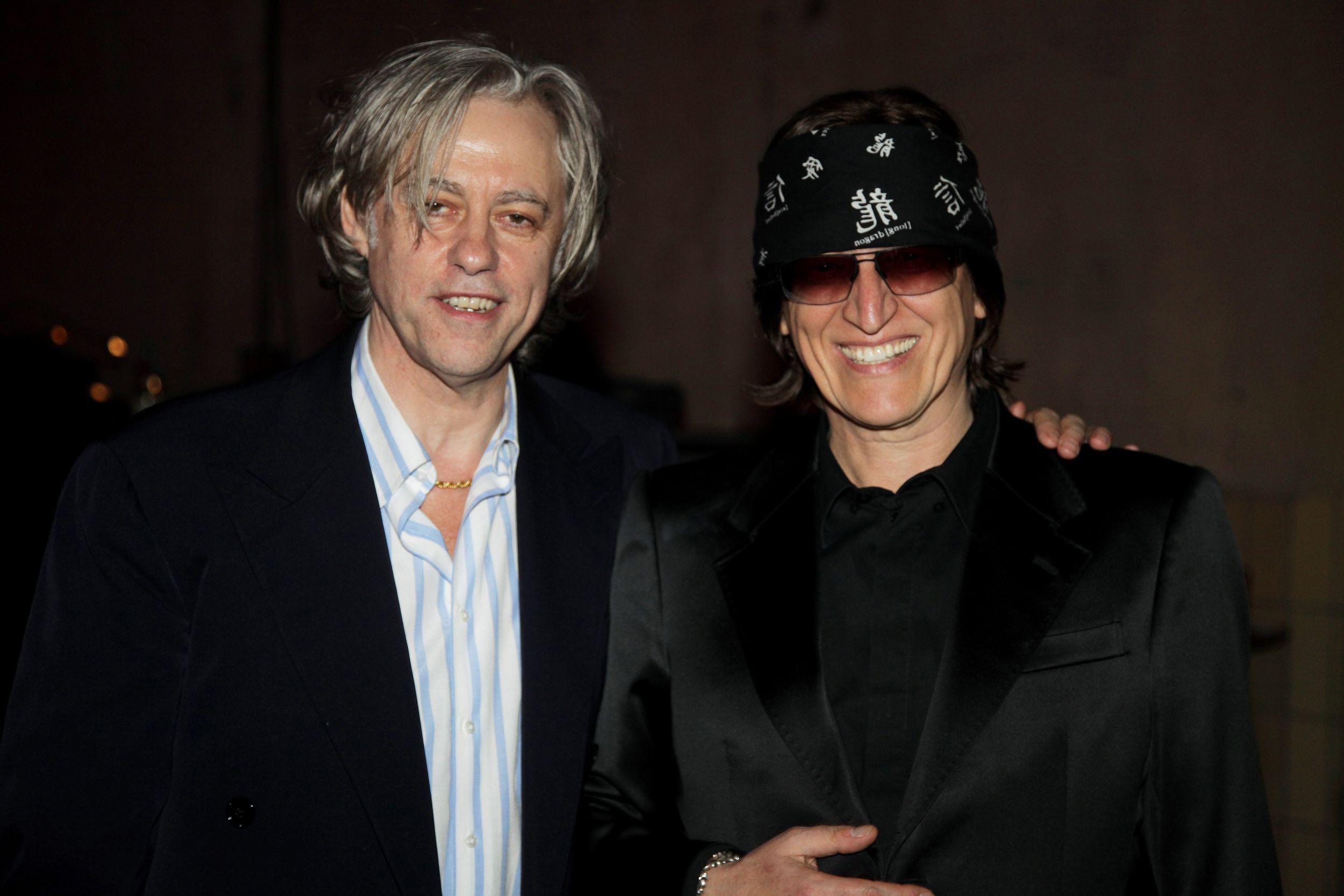 Sir Bob Geldof and Gottfried Helnwein, Steiger Awards 2009 (Music and Art), Jahrhunderthalle Bochum. foto: steiger award