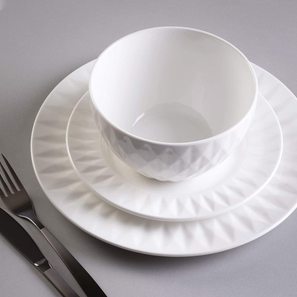 12 Piece Dinner Set Carnaby Hatton Bone China