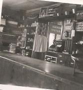 Interiör på Tychos affär