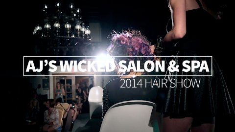 AJ's Wicked Salon & Spa Hair Show 2014
