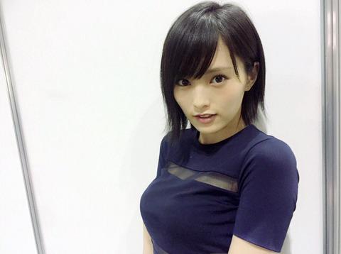 【神画像】AKB48山本彩ちゃんの胸がとんでもない大きさに!ロケット乳がスゲーーーーーーー!!!!!