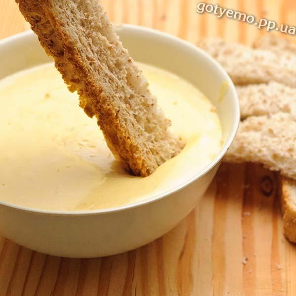 рецепт вершково-часникового соусу