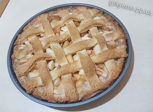 Яблучний пиріг з пивною карамеллю