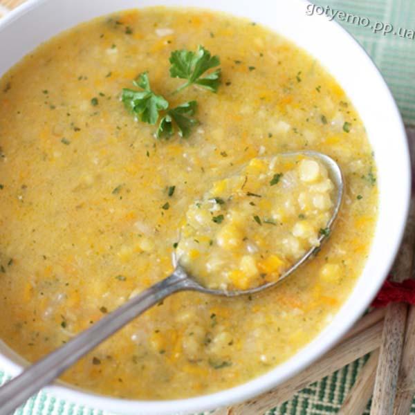 рецепт пісного горохового супу