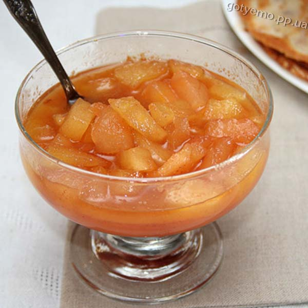 рецепт яблучного соусу