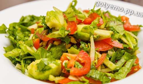 рецепт салату зі шпинатом