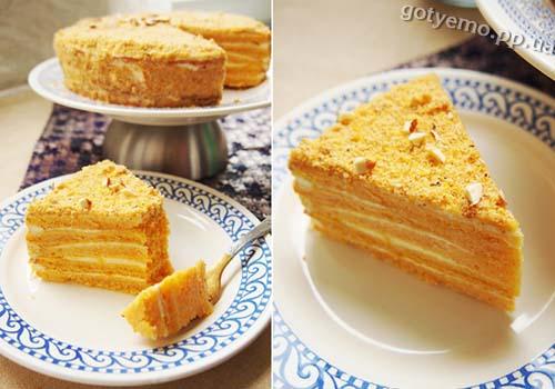 Рецепт гарбузово-апельсинового торта