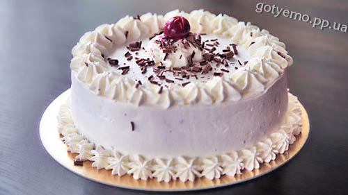 рецепт торта шварцвальд (темний ліс)