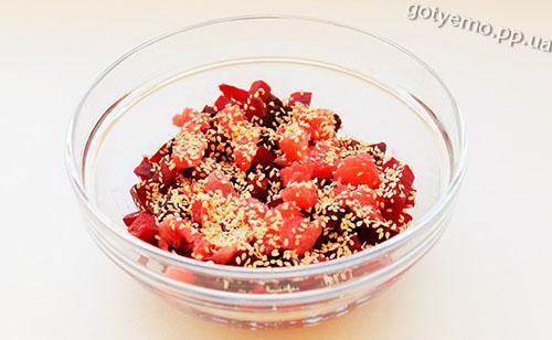 рецепт салату з буряком і грейпфрутом