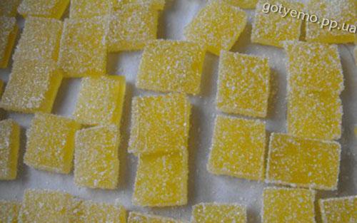 рецепт домашнього мармеладу з цитрусових