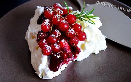рецепт торта-безе Павлова