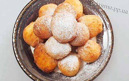 рецепт пончиків з варенням