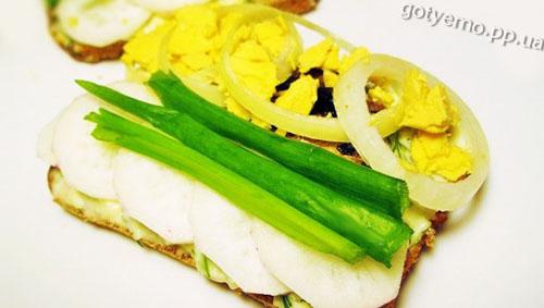 рецепт бутербродів зі шпротами