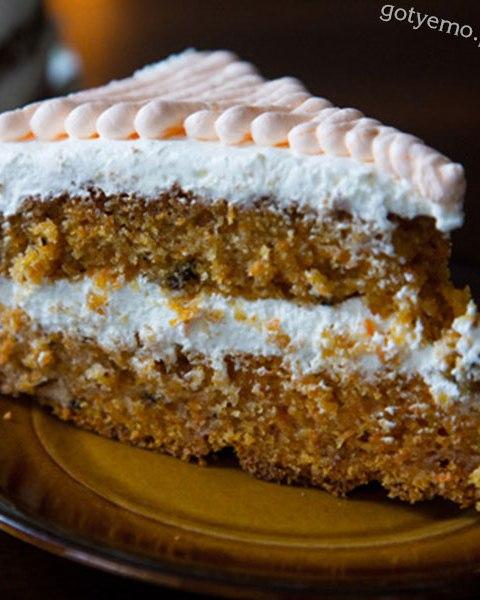 Морквяний торт