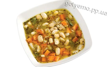 рецепт квасолевого супу по-сербськи
