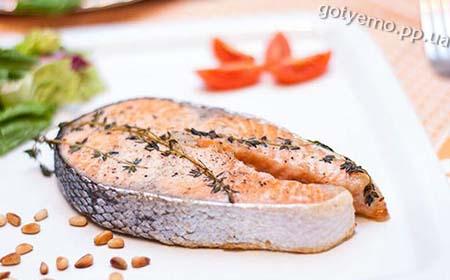 як приготувати стейк з лосося
