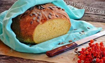 рецепт гарбузового хліба