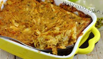 Рецепт запіканки з кабачків і картоплі