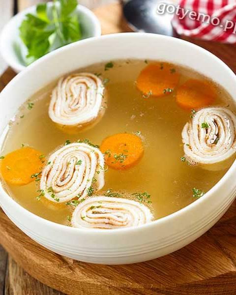 Суп з млинцями