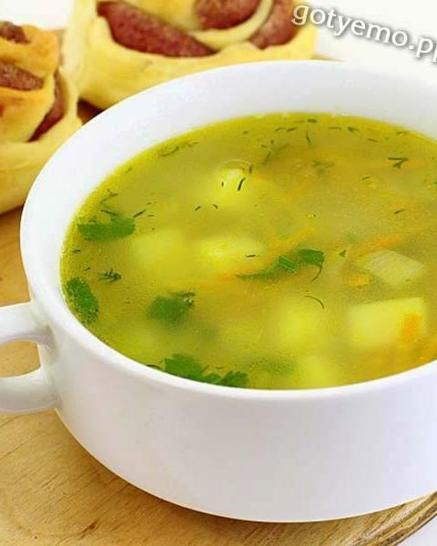 Пісний суп з булгуром