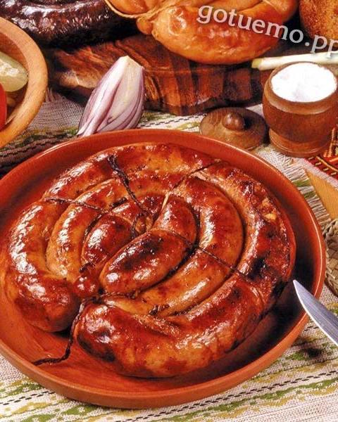 домашня ковбаса