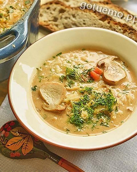 """Грибний суп """"Гуцульський"""""""