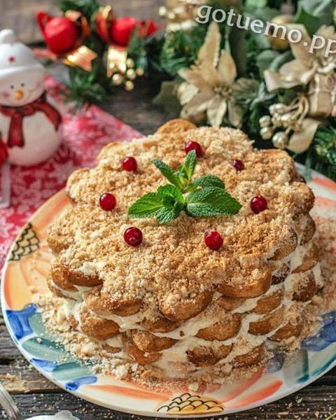 Лінивий торт Наполеон