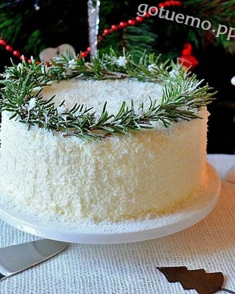 торт кокосова насолода
