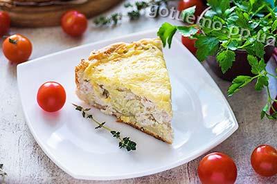 рецепт пирога з куркою і картоплею