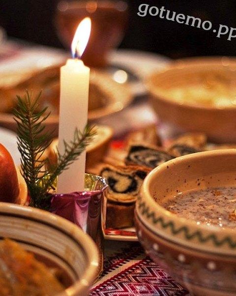 12 страв на святий вечір